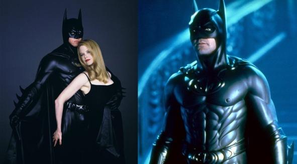 Nicole-Kidman-and-Val-Kilmer-Batman-Forever George Clooney Bruce Wayne