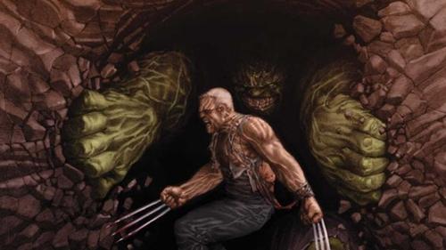 wolverine old man logan vs hulk 2